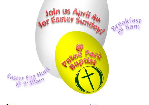 April 4th 2015 | Easter Sunday